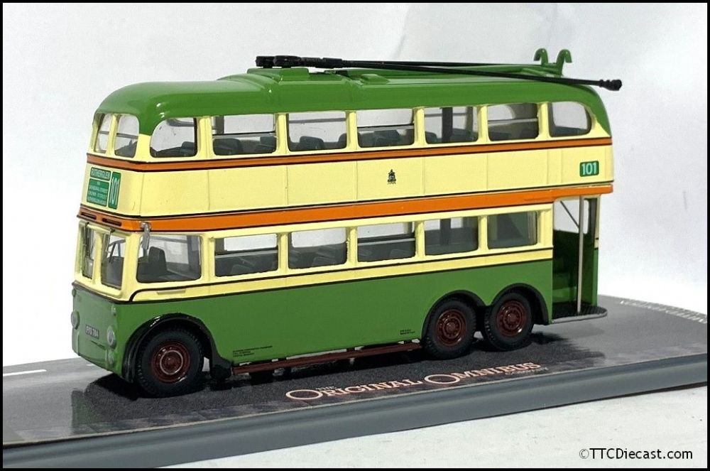 CORGI OM43706 BUT 9641T / Metro Cammell Trolleybus Glasgow Corporation -  PRE OWNED
